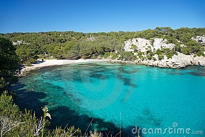 Macarella beach