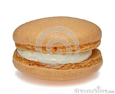 Macaron alaranjado