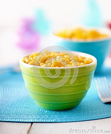 Free Macaroni And Cheese - Kids Food Stock Photography - 26454272