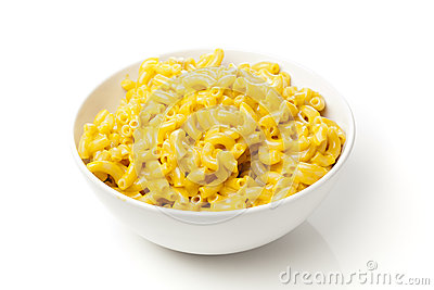 Macaroni and Cheese in a bowl