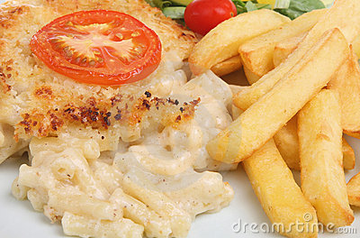 Macaroni Cheese & Chips