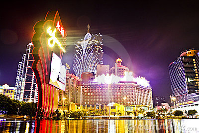 Macau Casino Editorial Photography