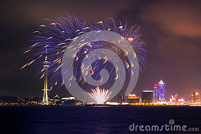 Macau Fireworks Display