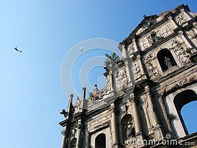 Macau St. Paul Church s Ruin