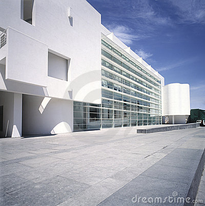 Macba museum. Barcelona,Spain Editorial Image