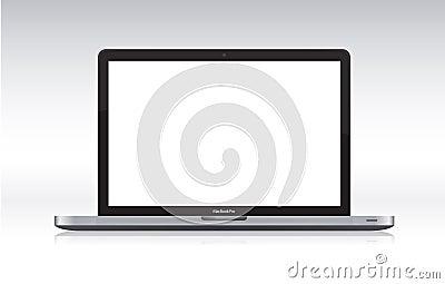 Macbook pro Editorial Stock Photo