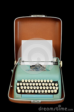 Macchina da scrivere del portable dell annata