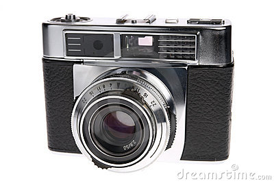 Macchina fotografica del telemetro della pellicola dell annata