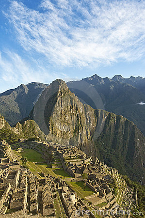 Macchu Picchu evening