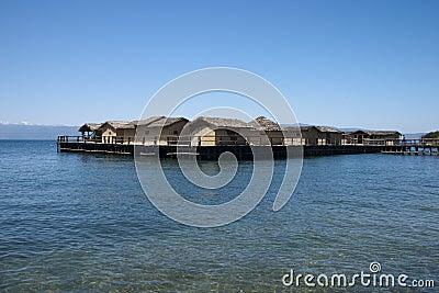 Macedonian log cabins