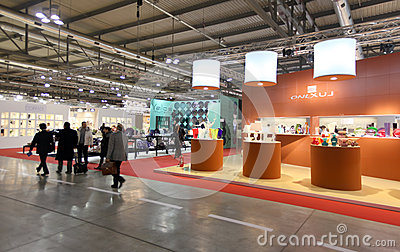Macef 2013, International Home Show Exhibition Editorial Image