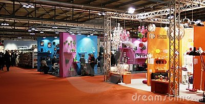 Macef, International Home Show Exhibition 2010 Editorial Stock Photo
