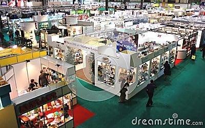 Macef, International Home Show Exhibition 2010 Editorial Photo