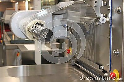 Machine de conditionnement de la fabrication
