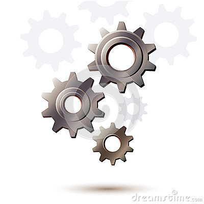 Machine gear wheel, cogwheel background
