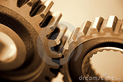 Machine gears or cogs