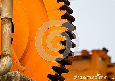 Machine gearwheel