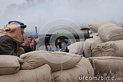 Machine-gun 1918