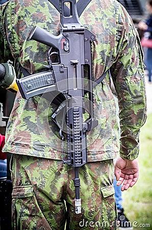 Free Machine Gun Royalty Free Stock Photo - 49743555