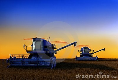 Machine for harvesting