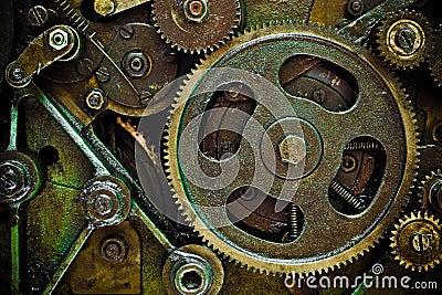 Mechanics Machine Connected Simple Business Icon Logo – Machine Mechanic