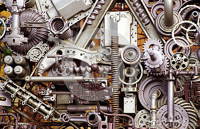 machine parts and pieces stock photo image 26883110