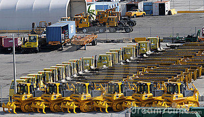 Machinery for export Editorial Photo