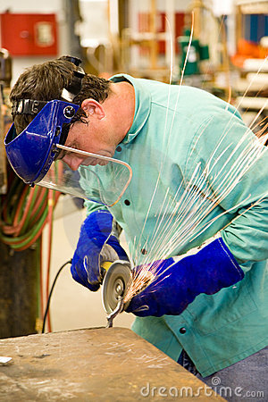 Free Machinist At Work Royalty Free Stock Photos - 7303648