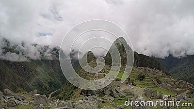 Machu Picchu, перемещение Перу, Южная Америка видеоматериал