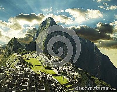 Machu-Picchu city