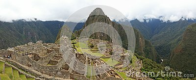 Machu Picchu the hidden Inca City in the clouds