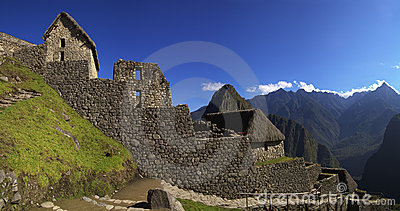 Machu Picchu main entrance