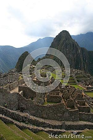 Machu picchu old ruins