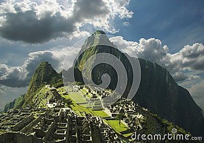 Machu-Picchu panorama