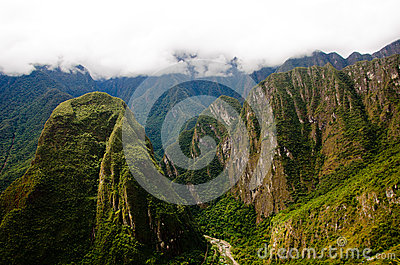 Machu Picchu, Peru Editorial Stock Image