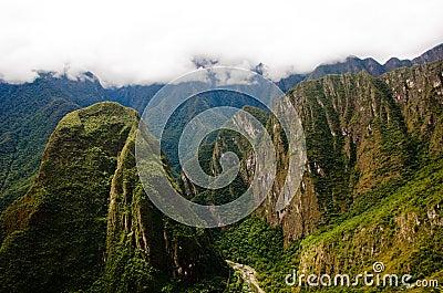 Machu Picchu, Peru Editorial Stock Image