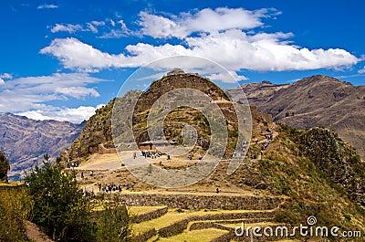 Machu Picchu, Peru Editorial Photography