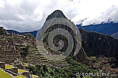 Machu Picchu, Peru Editorial Stock Photo