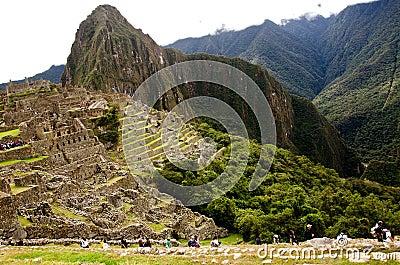 Machu Picchu, Peru Editorial Photo