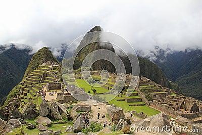 Machu Picchu s clouds