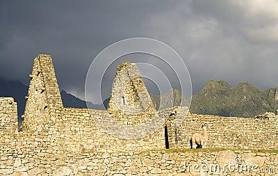Machu Picchu Storm