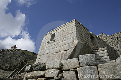 Machu Picchu Temple of the Sun, Peru