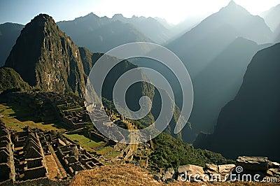 Machu Piccu ruins