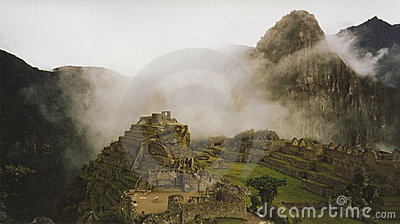 machu pichu cloud city peru