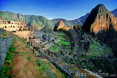 Machu Picchu from Peru (overview)