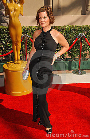 Macia Gay Harden at the 2007 Primetime Creative Arts Emmy Awards. Shrine Auditorium, Los Angles, CA. 09-08-07 Editorial Stock Photo
