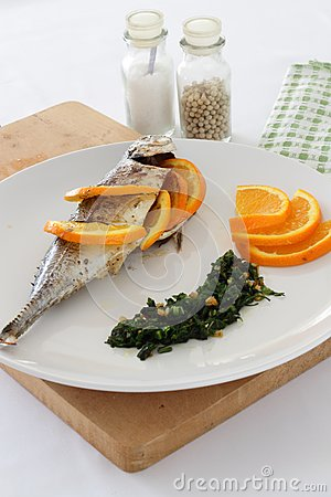 Mackerel in salsa verde