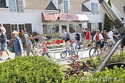 Mackiinac Island, Michigan, Bikes, Bikes, Bikes Editorial Image
