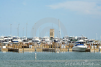 Mackinaw City Harbor