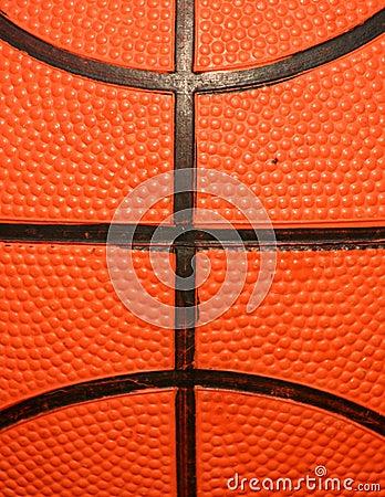 Macro of Basketball